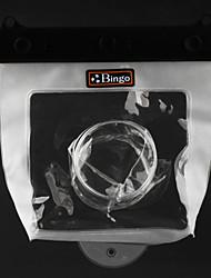 BINGO WP04-7 Camera Bag für Tauchen (orange, mit wasserdichter Clip)