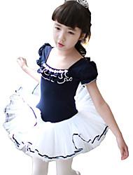 Kids' Dancewear Tutu Ballet Performance Lovely Lycra Dress More Colors Kids Dance Costumes
