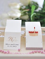matchbooks personalizado - casamento (conjunto de 25)