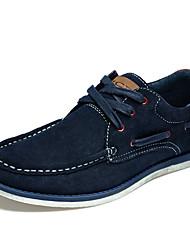 JCB moda Gamuza Azul Oscuro Zapatos