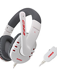 Somic G923 On-ear Headphones with Mic,Remotefor iPod iPad