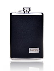 Gift Groomsman Personalized  Black 9-oz  Flask