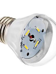 E26/E27 Lampadine globo LED A60(A19) 4 SMD 7020 320 lm Bianco AC 85-265 V