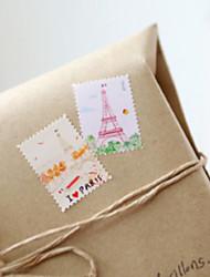 Vintage Stamp Aufkleber