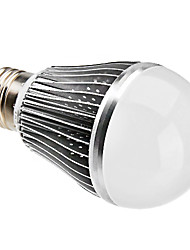 7W E26/E27 Bombillas LED de Globo A60(A19) 7 LED de Alta Potencia 630 lm Blanco Natural Regulable AC 100-240 V