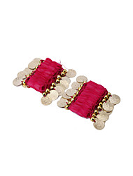 Dancewear Chiffon with Coins Belly Dance Bracelet For Children More Colors(A Pair)