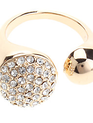 Simples completa anel de diamante