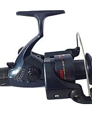Schwarz / Dunkelblau Spinning Reel Fishing (zufällige Farbe)