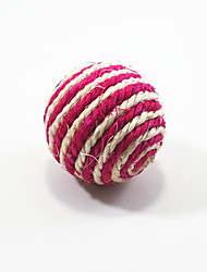 Sisal Spiral Pattern Ball Style Cat Scratch Toys(Random Color)