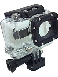 Black and Transparent Water-Proof Compatible Camera Models GoPro Hero 3