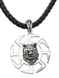 Мужской трикотаж Ретро Ведущие Преувеличенные Ожерелье