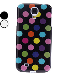 Colorful Dot Soft Case Pattern pour Samsung Galaxy S4 i9500 (couleurs assorties)