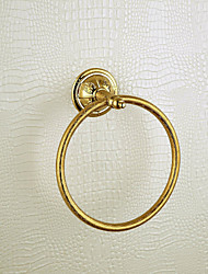 Antique Wall-mounted Towel Ring - Ti-PVD Finish