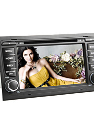 7 polegadas touchscreen capacitivo de DVD do carro para Audi A4 (2002-2008) com gps, Wifi/3G, tv