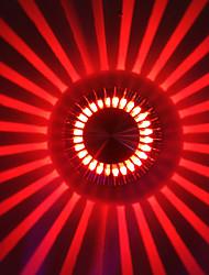 3W moderne Led applique murale avec diffusion de la lumière Plaque de retour UFO
