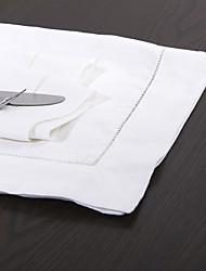 Conjunto de 4 lavado roupa Hemititch Jantar Guardanapo
