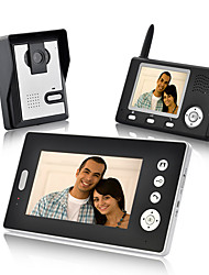 Wireless Video Door Phone with Dual Receivers