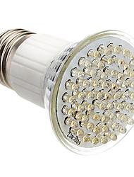 E27 3.5W 60-LED 350-400LM 3000-3500K Warm White LED Light Bulb Pontual (85-265V)