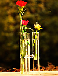 Table Centerpieces Tube Shaped Glass Vase Centerpiece  Table Deocrations