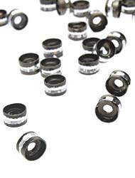 6mm de alumínio redondo Rim Bead (Conter 100 fotos)