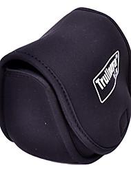 Trulinoya-Portable Spinning Wheel Shaped Negro Pesca Bolsa rollo