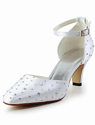 Women's Wedding Shoes Heels Heels Wedding Blue/Red/Ivory/White