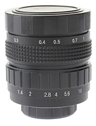 "50mm F1.4 объектив CCTV Micro на 2/3 ""C (черный)"