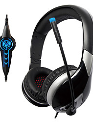 SOMIC G945 USB2.0 7.1 Sound Effect Over-Ear Gaming Headphone with Mic and Remote for PC
