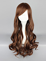 Reddish Brown 70cm Classic Lolita Curly Wig