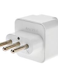 Italy Travel AC Power Adapter White