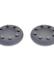 Anti-Slip Silicone Analógico Cap Capas para Xbox 360 Controller - Cinza (Par)