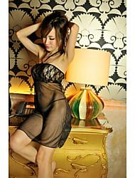 Fashion Black Translucent Slip (Für S-XL)