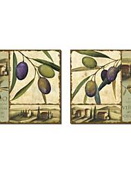 Toile tendue Art botanique Oliver par NBL studio Lot de 2