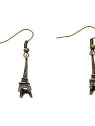 Torre Eiffel de metal Brinco