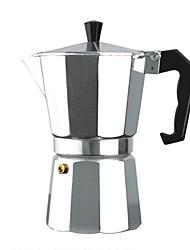 b30 Edelstahl 6-Tassen-Kaffeemaschine express