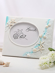 Beach Themed Resin Guestbook