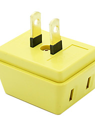 Mini Viajar Doce Cor 3 em 1 Plug (cor aleatória)