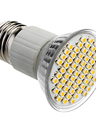 E27 4W 60x3528SMD 180-240LM 3000-3500K Warm White Light LED Spot Bulb (85-265V)