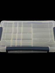 20 Effacer Art Astuce outil (27 * 17,5 * 4,5) en plastique Nail Storage Box Case