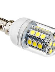 Lampadina LED a pannocchia, luce bianca naturale E14 27x5050 SMD 3.5W 300LM 5500-6500K (230V)