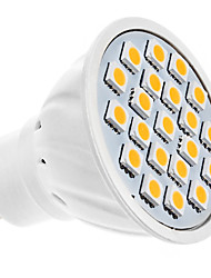 5W GU10 LED Spotlight MR16 20 SMD 5050 320 lm Warm White AC 220-240 V