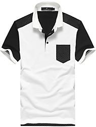 PPZ Cotton Polka Dots Polo T Shirt