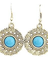 Earring Drop Earrings Jewelry Women Party / Daily Alloy Blue