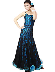 Ballroom Dance Outfits Women's Training Lace Viscose Natural