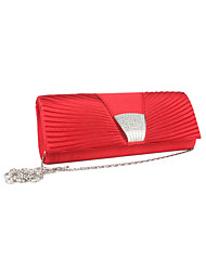 Gorgeous Silk with Austria Rhinestones Wedding/Special Occasion Evening Handbag/Clutches(More Colors)