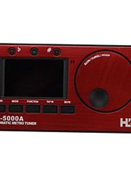 "JH-5000A 1.7"" Digital 3-in-1 Metronome / Digital Tuner / Tone Generator - Red + Black (2 x AAA)"