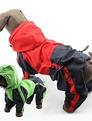 PethingTM Western Style Windproof Waterproof Raincoat for Dogs