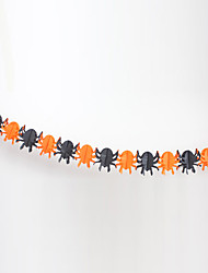 Araignée Halloween Papier Garland