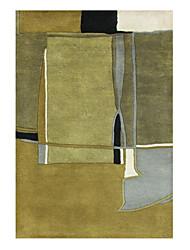 Abstractionnisme style Laine tuftés Carpette 5 '* 8'