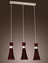 acciaio ciondolo luce 3-luce in acciaio snellire dedigned (viola)